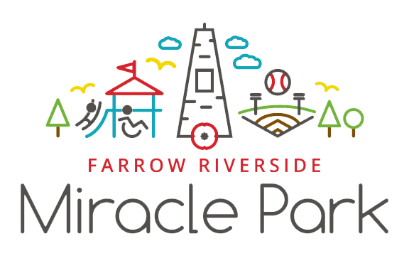 Farrow Riverside Miracle Park | Accessible Playground & Park | Windsor, Ontario