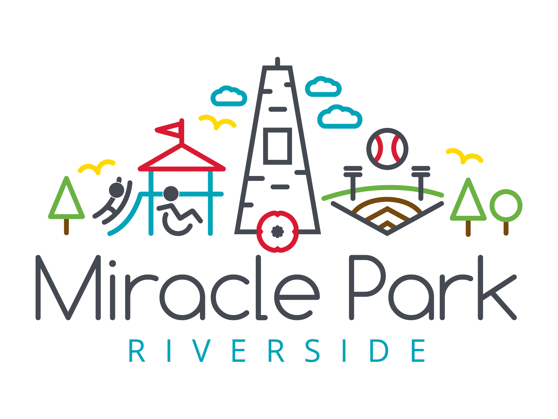 First Version of Riverside Miracle Park Logo
