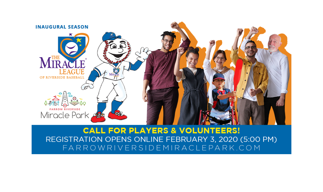 Player and Volunteer Registration for the league will open Feb 3rd