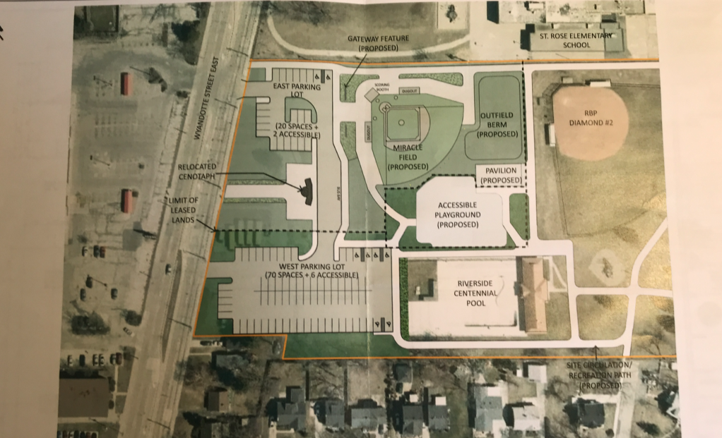 Proposed Miracle Park Site