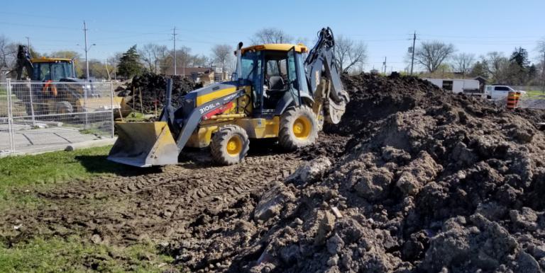 Moving Some Soil