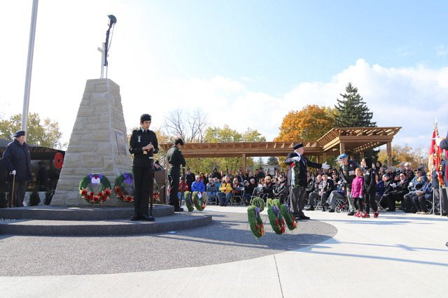 Cenotaph Dedication & Remembrance Day Celebration